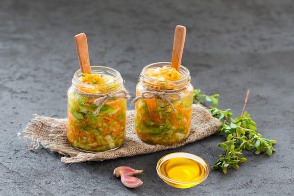 罐装蔬菜沙拉