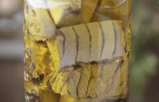 自制橄榄油金枪鱼罐头