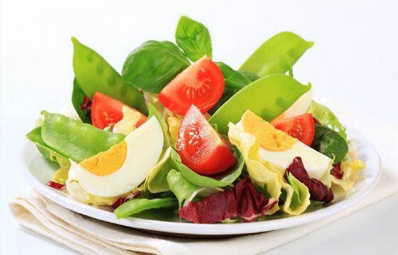 橄榄油美食系列—鸡蛋蔬菜沙拉
