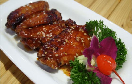 橄榄油蜜汁烤鸡翅