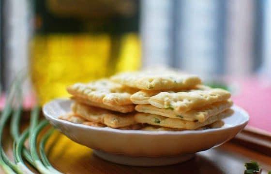 黑莓橄榄油饼干
