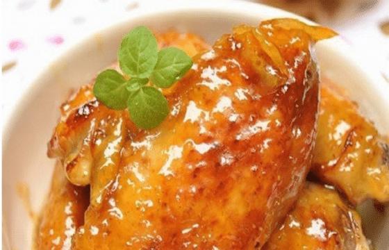 香橙蜜糖鸡翅