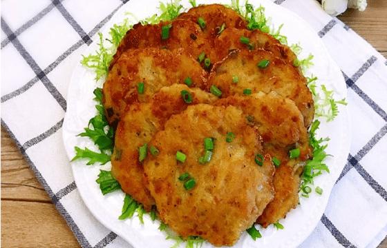 肉末土豆饼