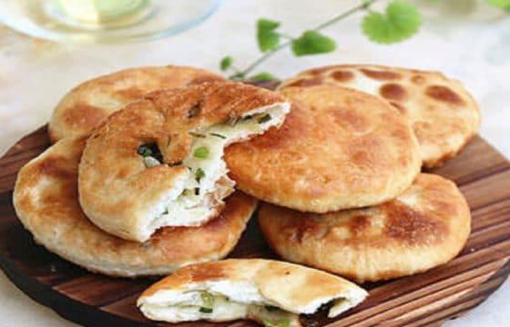 橄榄油葱油饼