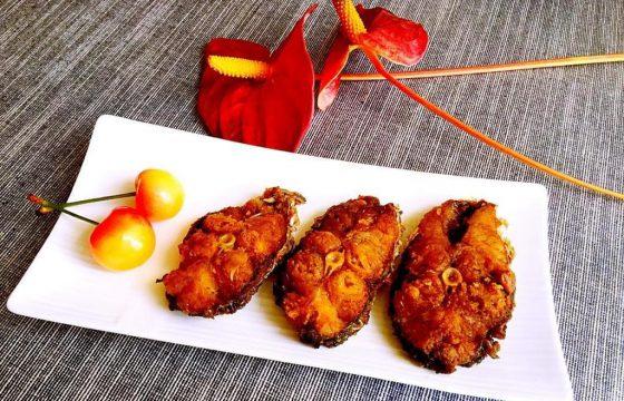 橄榄油五香熏鱼