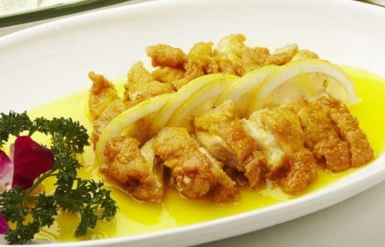 美味柠檬鸡