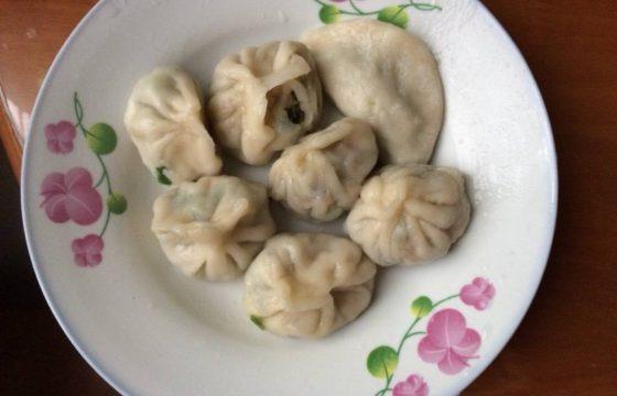 香菇肉馅水饺