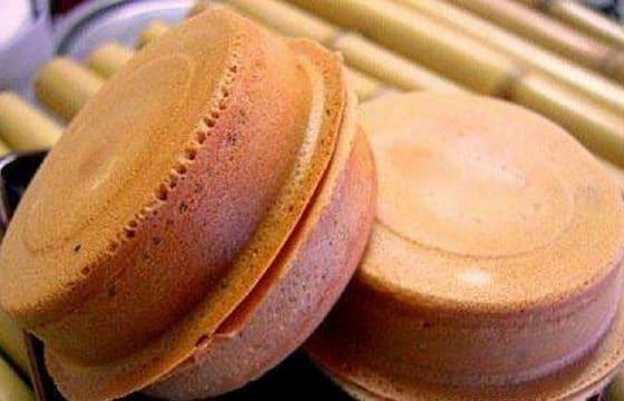 芝麻红豆饼