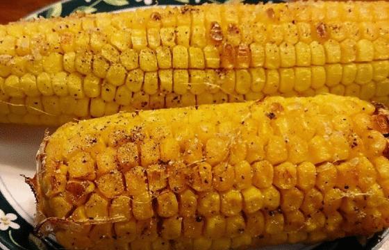 海盐烤玉米
