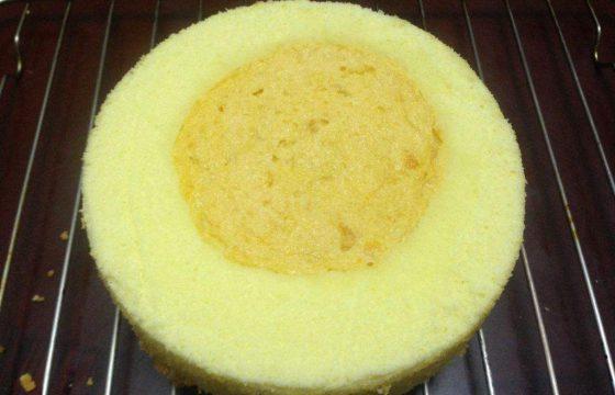 用电饭煲制作橄榄油蛋糕