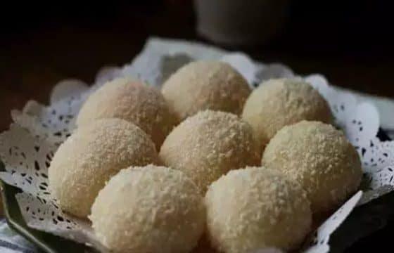 夏日甜点:芒果糯米糍