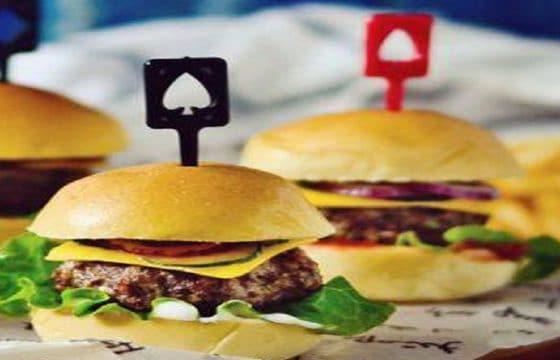 苏打牛肉迷你汉堡