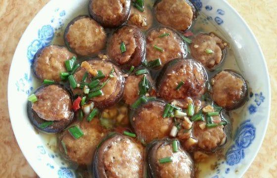 香菇鲜虾盏的做法