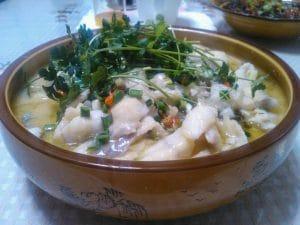 酸菜鱼面片