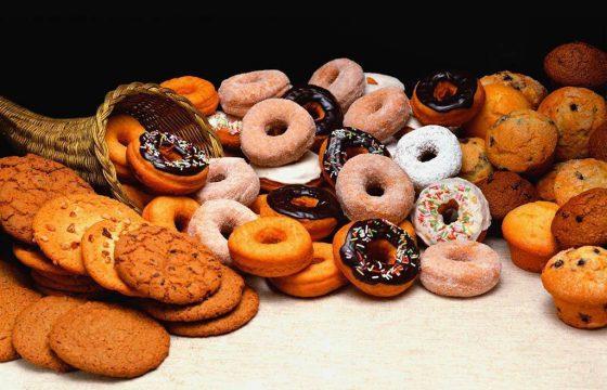 自制甜甜圈