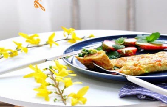 橄榄油美食系列——菠菜奶酪煎蛋
