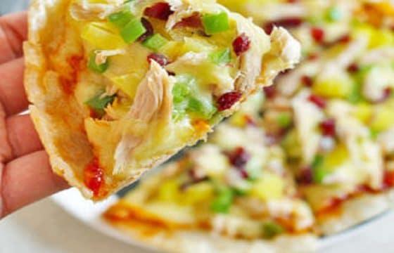 橄榄油美食系列——金枪鱼薄底披萨
