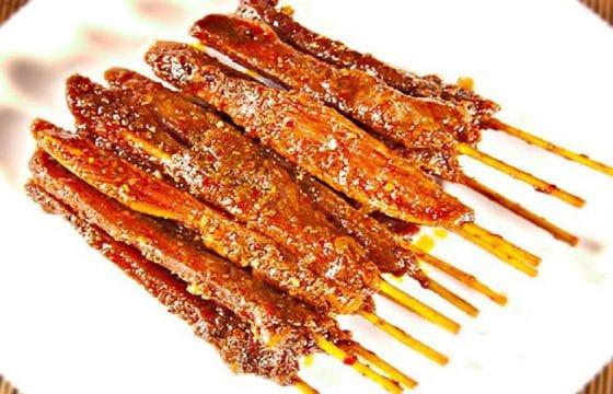橄榄油美食系列——亚洲风味鸭肉串