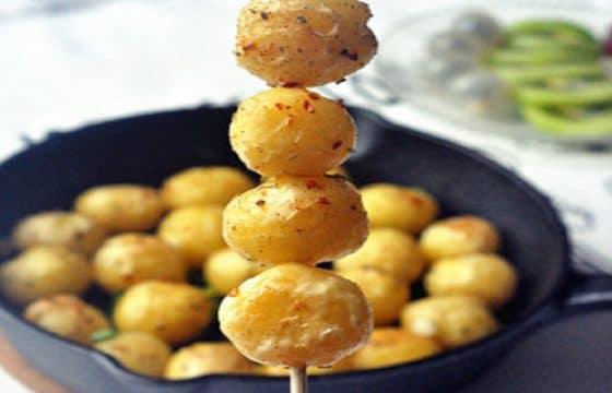 橄榄油美食系列——迷迭香烤小土豆