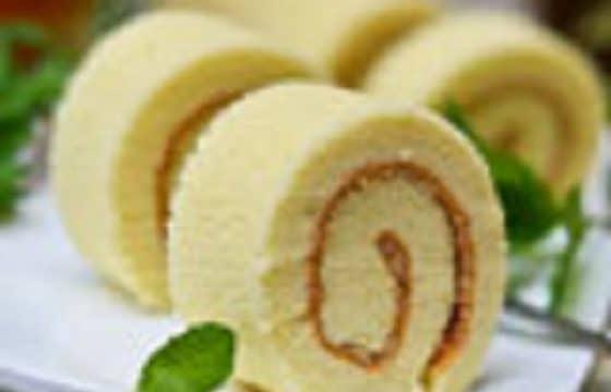 橄榄油美食系列——肉松蛋糕