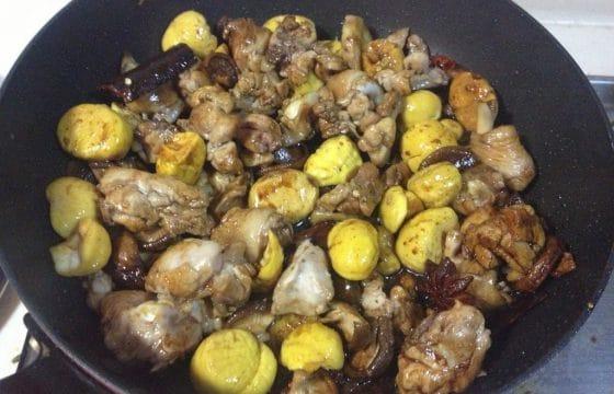 西班牙橄榄油烧猪肉焖板栗