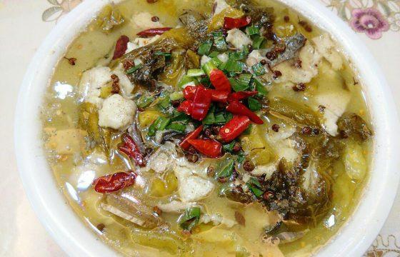 西班牙橄榄油烧酸菜鱼