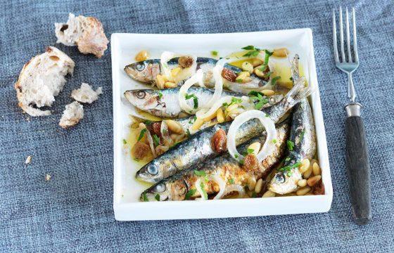 橄榄油煎沙丁鱼(香辣味)