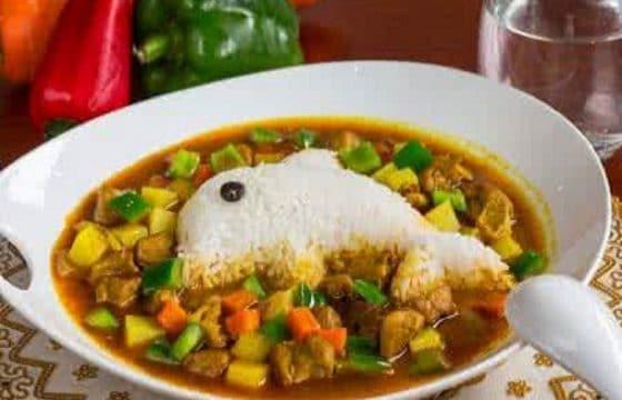 营养食谱:咖喱鸡饭