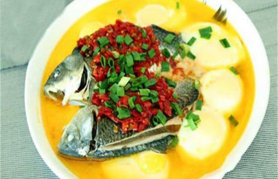 【橄榄油美食】蛋蒸鲫鱼