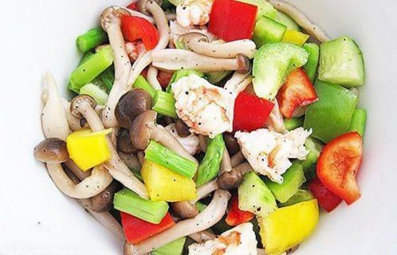 橄榄油凉拌菜