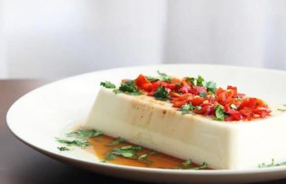 橄榄油剁椒拌豆腐