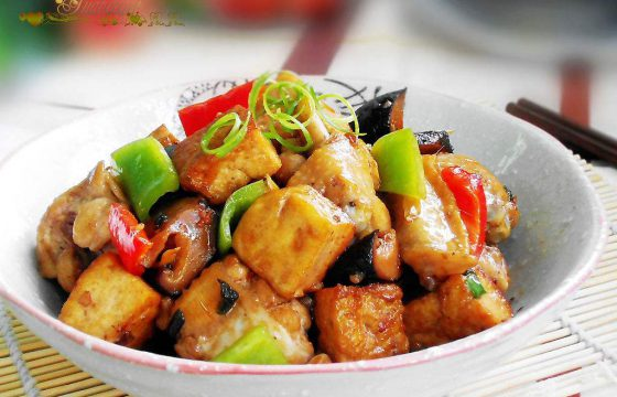 橄榄油菜谱:洋蓟烧鸡