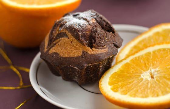 香橙可可杯子蛋糕