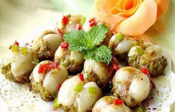 橄榄油煎百合虾饺
