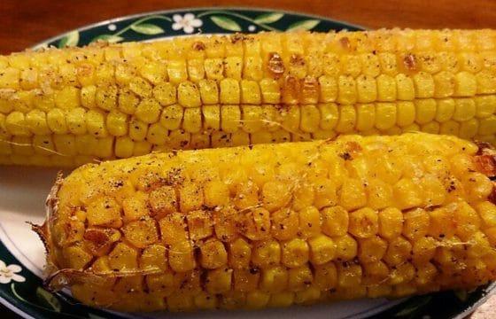 懒人食谱:橄榄油烤玉米