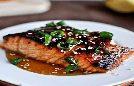 烤芝麻姜汁鱼
