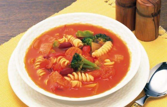意大利蔬菜汤,熬夜抢单的能量神器