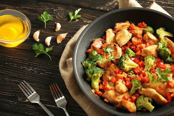 胡萝卜炒鸡胸肉